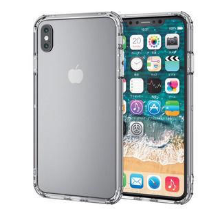 iPhone XS Max ケース ハイブリッドバンパー クリア iPhone XS Max