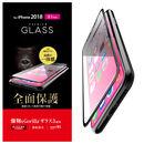 フルカバー強化ガラス Gorilla/ブラック iPhone XR