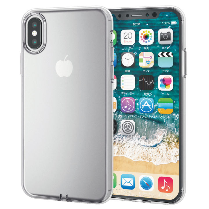 iPhone XS ケース ソフトケース 極み クリア iPhone XS_0