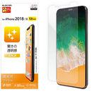保護フィルム 光沢 iPhone XS/X