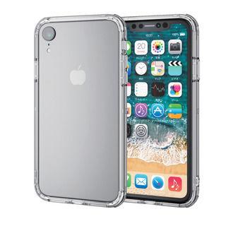 【iPhone XRケース】ハイブリッドバンパー クリア iPhone XR