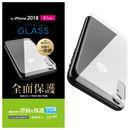 背面フルカバー強化ガラス クリア iPhone XR
