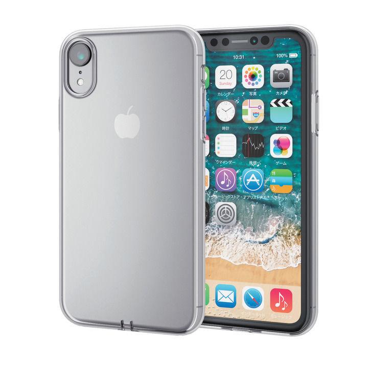 【iPhone XRケース】ソフトケース 極み クリア iPhone XR_0