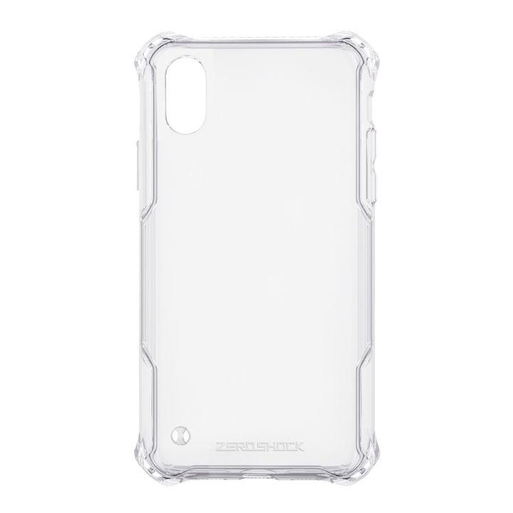 【iPhone XS Maxケース】ZEROSHOCK 耐衝撃吸収ケース スタンダード インビジブルクリア iPhone XS Max_0