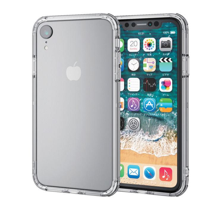iPhone XR ケース ハイブリッドバンパー クリア iPhone XR_0