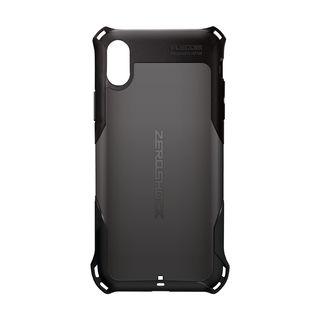 iPhone XS ケース ZEROSHOCK 耐衝撃吸収ケース スタンダード ブラック iPhone XS