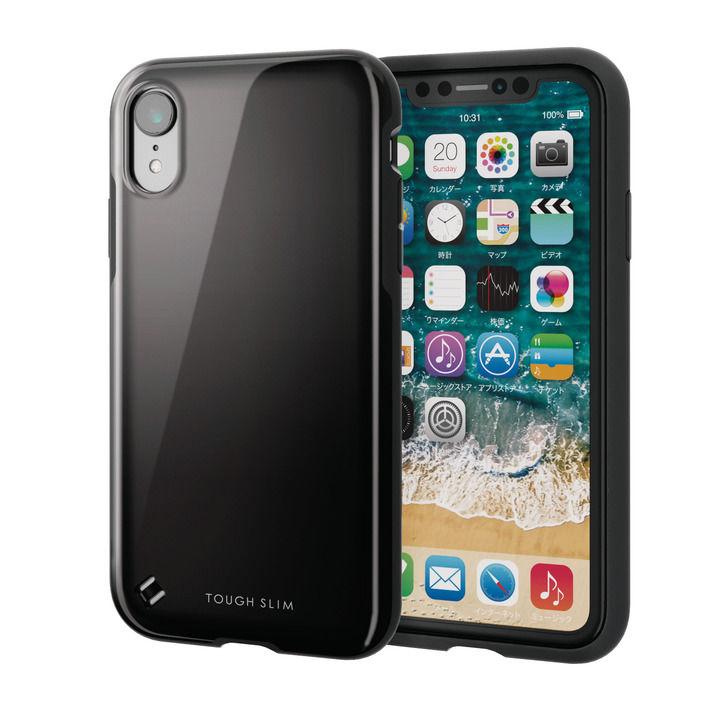 iPhone XR ケース TOUGH SLIM2 2トーンカラーケース ブラック iPhone XR_0