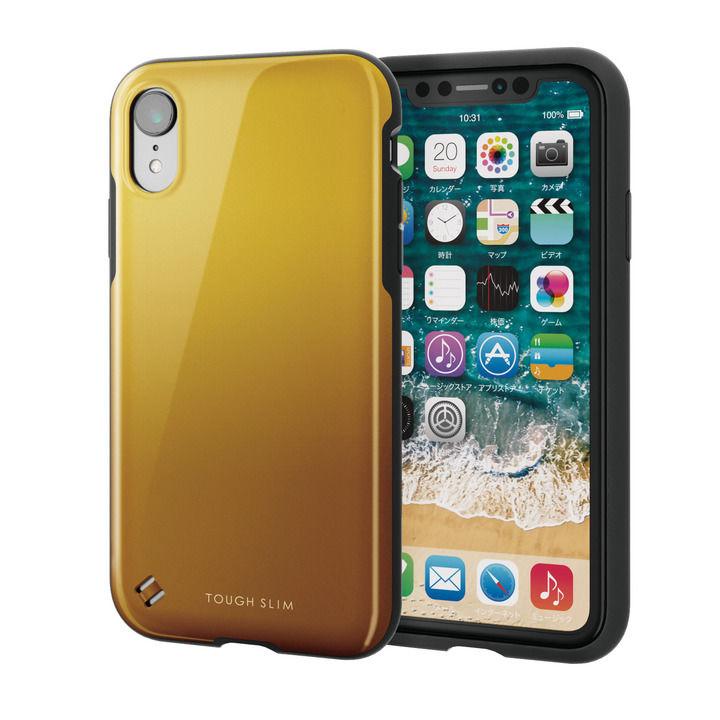iPhone XR ケース TOUGH SLIM2 2トーンカラーケース オレンジ iPhone XR_0