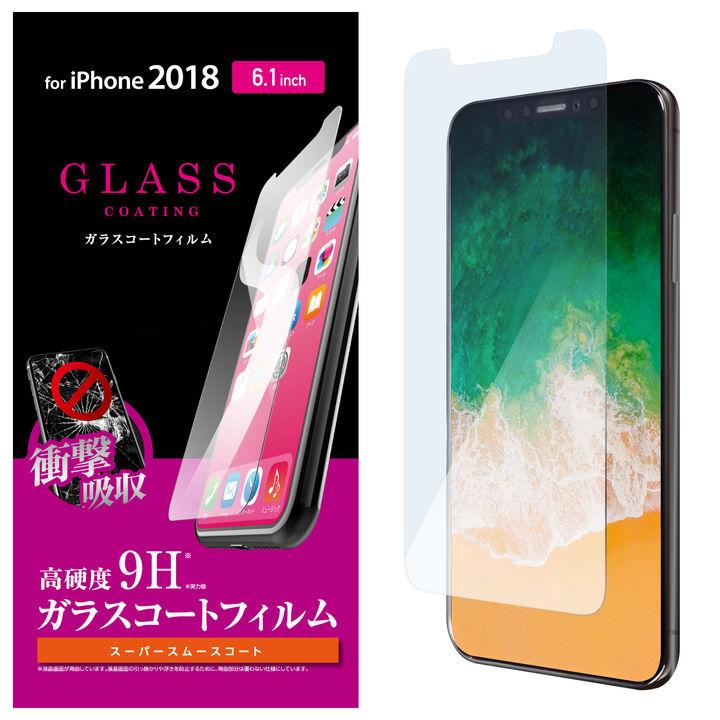 iPhone XR フィルム ガラスコートフィルム スムースタッチ iPhone XR_0