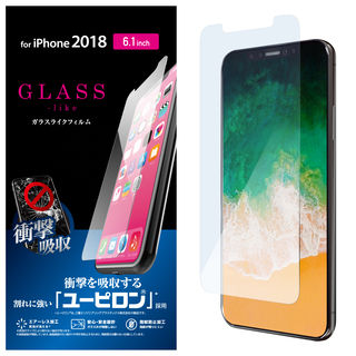 iPhone XR フィルム ガラスライク保護フィルム ユーピロン iPhone XR