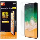 保護フィルム 衝撃吸収/光沢 iPhone XS/X