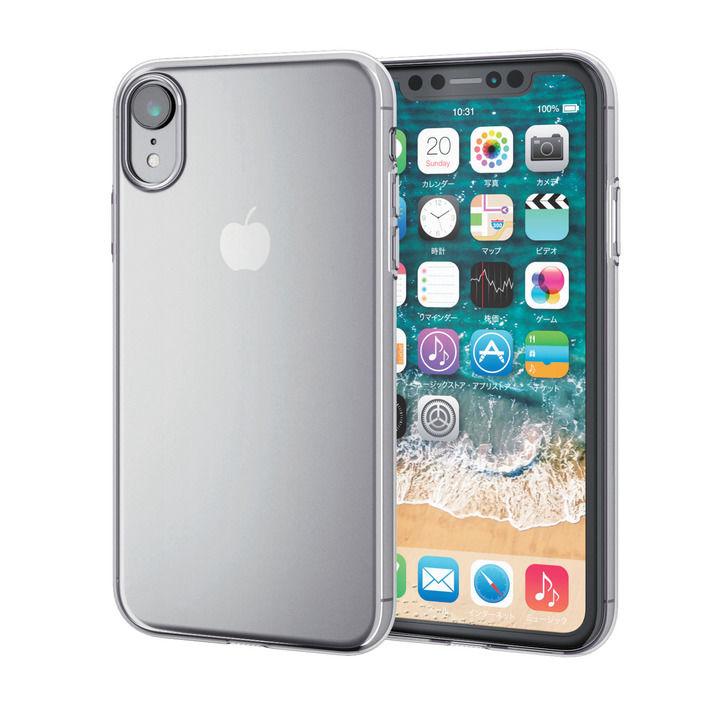 iPhone XR ケース 薄型ソフトケース クリア iPhone XR_0