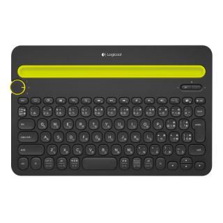 ロジクール Bluetooth マルチデバイス キーボード K480 ブラック