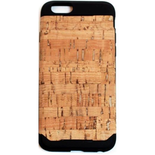 iPhone6 ケース 木材の素材感を生かしたウッドスキン ナチュラルコルク iPhone 6ケース_0