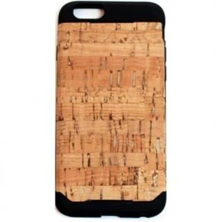 木材の素材感を生かしたウッドスキン ナチュラルコルク iPhone 6ケース