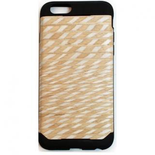 iPhone6 ケース 木材の素材感を生かしたウッドスキン ダイアモンド iPhone 6ケース