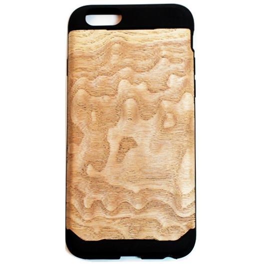 【iPhone6ケース】木材の素材感を生かしたウッドスキン ニューアッシュ iPhone 6ケース_0