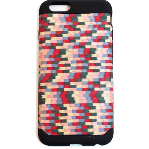 本革木材の素材感を生かしたウッドスキン iPhone 6ケース
