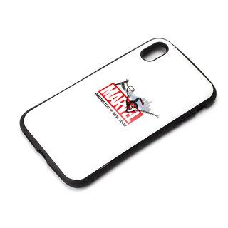 iPhone XS Max ケース Premium Style ハイブリッドタフケース スパイダーマン/ホワイト iPhone XS Max