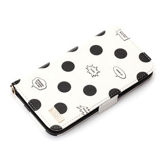 iPhone XR ケース iJacket 手帳型ケース アベンジャーズ/ホワイト iPhone XR