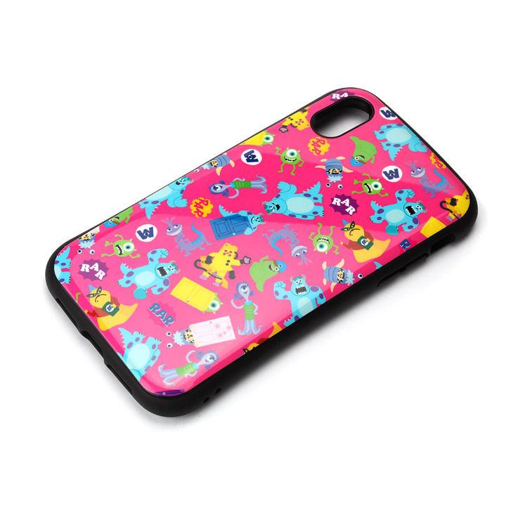 iPhone XR ケース Premium Style ハイブリッドタフケース モンスターズ・インク/ピンク iPhone XR_0