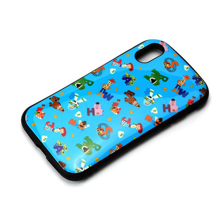 iPhone XS/X ケース Premium Style ハイブリッドタフケース トイ・ストーリー/ブルー iPhone XS/X_0