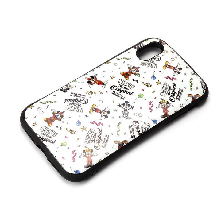 iPhone XR ケース Premium Style ハイブリッドタフケース ミッキーマウス/ホワイト iPhone XR_0