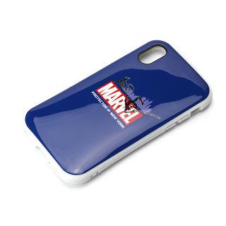 iPhone XS/X ケース Premium Style ハイブリッドタフケース スパイダーマン/ネイビー iPhone XS/X