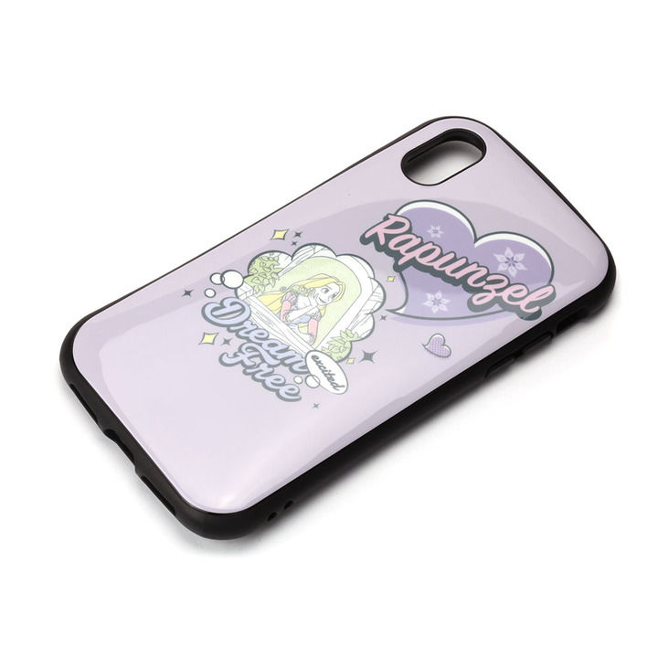 iPhone XS/X ケース Premium Style ハイブリッドタフケース ラプンツェル iPhone XS/X_0
