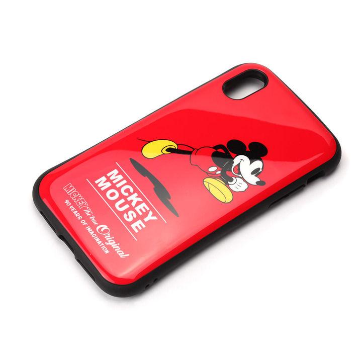 iPhone XR ケース Premium Style ハイブリッドタフケース ミッキーマウス/レッド iPhone XR_0