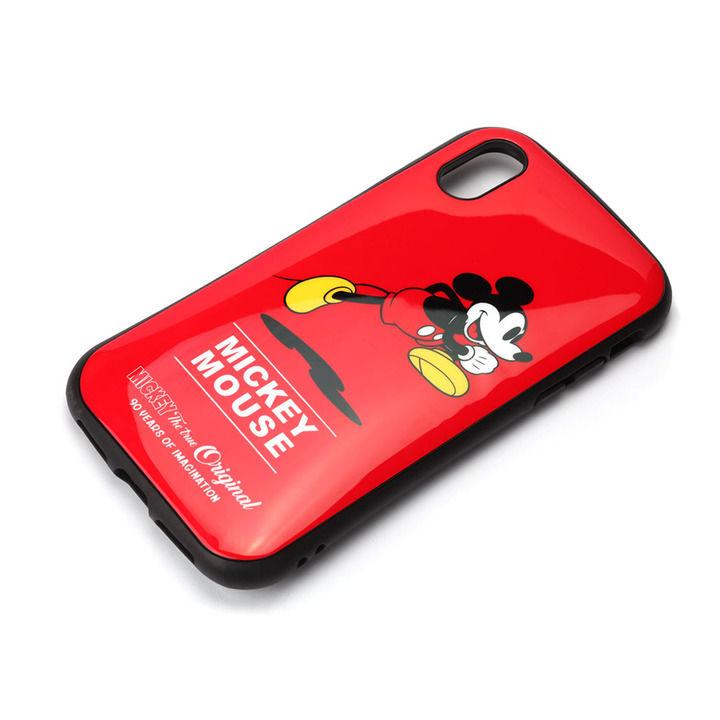 iPhone XS/X ケース Premium Style ハイブリッドタフケース ミッキーマウス/レッド iPhone XS/X_0
