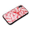 Premium Style ハイブリッドタフケース ロゴ/レッド iPhone XS Max