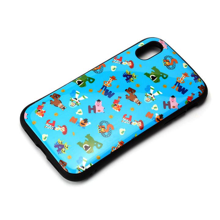 iPhone XR ケース Premium Style ハイブリッドタフケース トイ・ストーリー/ブルー iPhone XR_0
