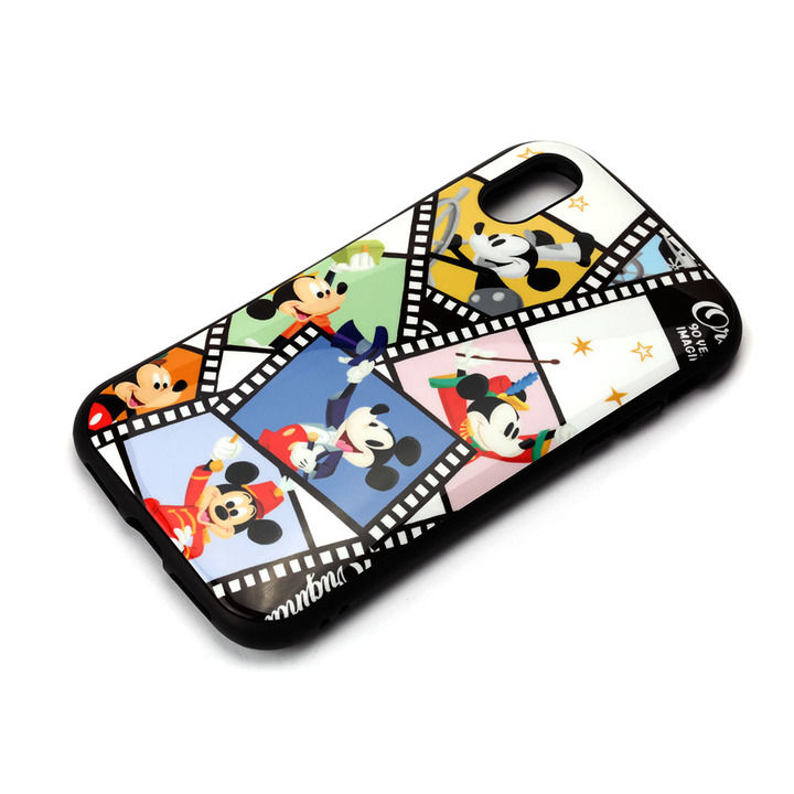 iPhone XS/X ケース Premium Style ハイブリッドタフケース ミッキーマウス/フィルム iPhone XS/X_0