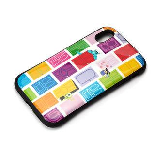 【iPhone XRケース】Premium Style ハイブリッドタフケース モンスターズ・インク/ホワイト iPhone XR