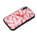Premium Style ハイブリッドタフケース ロゴ/レッド iPhone XR