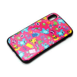 【iPhone XS Maxケース】Premium Style ハイブリッドタフケース モンスターズ・インク/ピンク iPhone XS Max