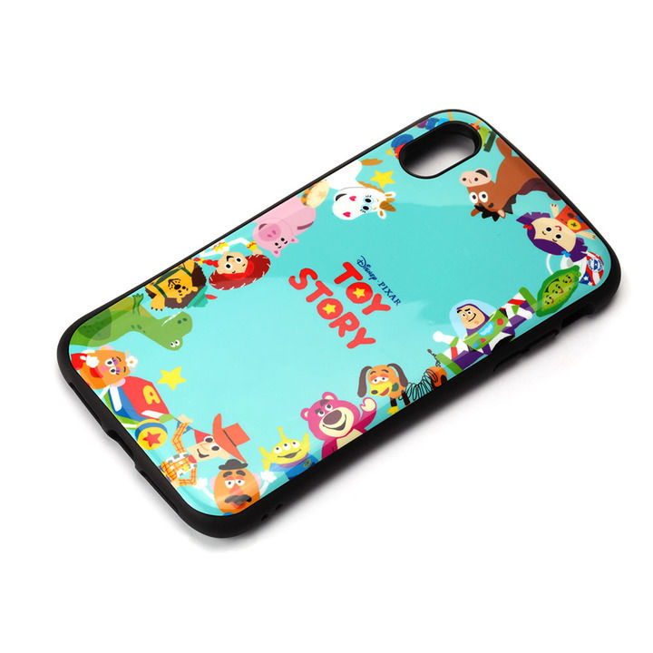 iPhone XS Max ケース Premium Style ハイブリッドタフケース トイ・ストーリー/グリーン iPhone XS Max_0