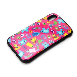 【iPhone XRケース】Premium Style ハイブリッドタフケース モンスターズ・インク/ピンク iPhone XR