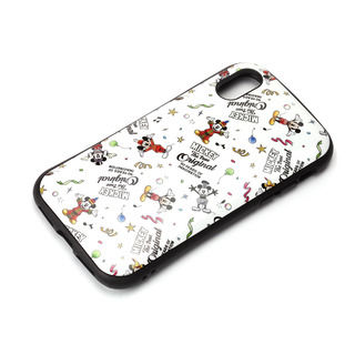 iPhone XS/X ケース Premium Style ハイブリッドタフケース ミッキーマウス/ホワイト iPhone XS/X