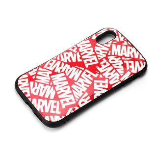 【iPhone XSケース】Premium Style ハイブリッドタフケース ロゴ/レッド iPhone XS