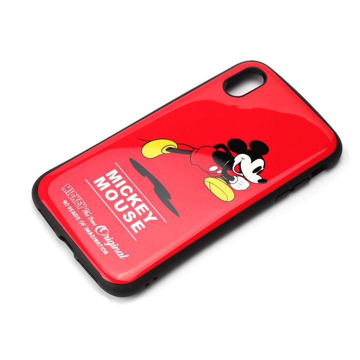 iPhone XS Max ケース Premium Style ハイブリッドタフケース ミッキーマウス/レッド iPhone XS Max_0