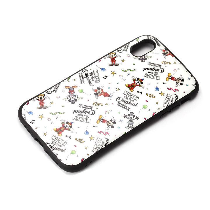 【iPhone XS Maxケース】Premium Style ハイブリッドタフケース ミッキーマウス/ホワイト iPhone XS Max_0