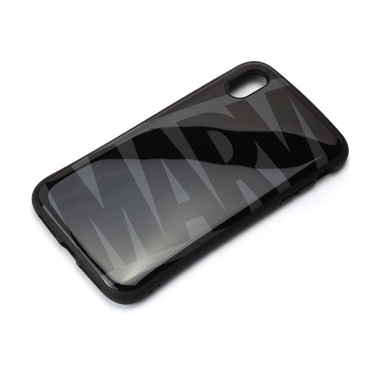 iPhone XS Max ケース Premium Style ハイブリッドタフケース ロゴ/ブラック&グレー iPhone XS Max_0