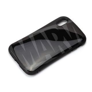 iPhone XS/X ケース Premium Style ハイブリッドタフケース ロゴ/ブラック&グレー iPhone XS/X