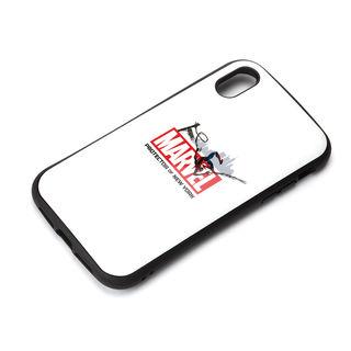 iPhone XR ケース Premium Style ハイブリッドタフケース スパイダーマン/ホワイト iPhone XR