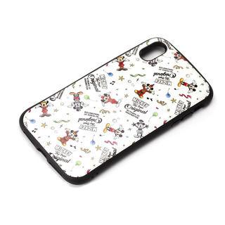 iPhone XS Max ケース Premium Style ハイブリッドタフケース ミッキーマウス/ホワイト iPhone XS Max