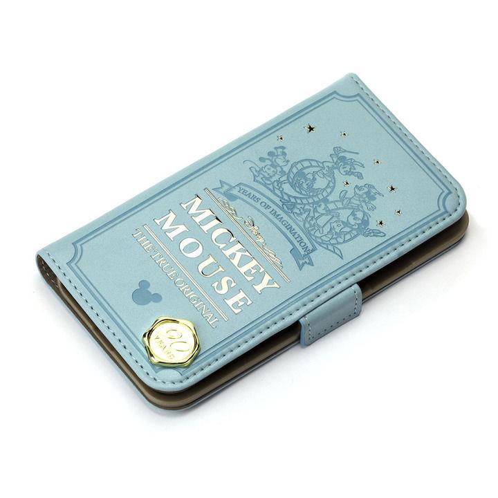 iPhone XR ケース iJacket 手帳型ケース ミッキーマウス/グリーン iPhone XR_0