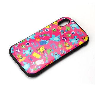 iPhone XS/X ケース Premium Style ハイブリッドタフケース モンスターズ・インク/ピンク iPhone XS/X