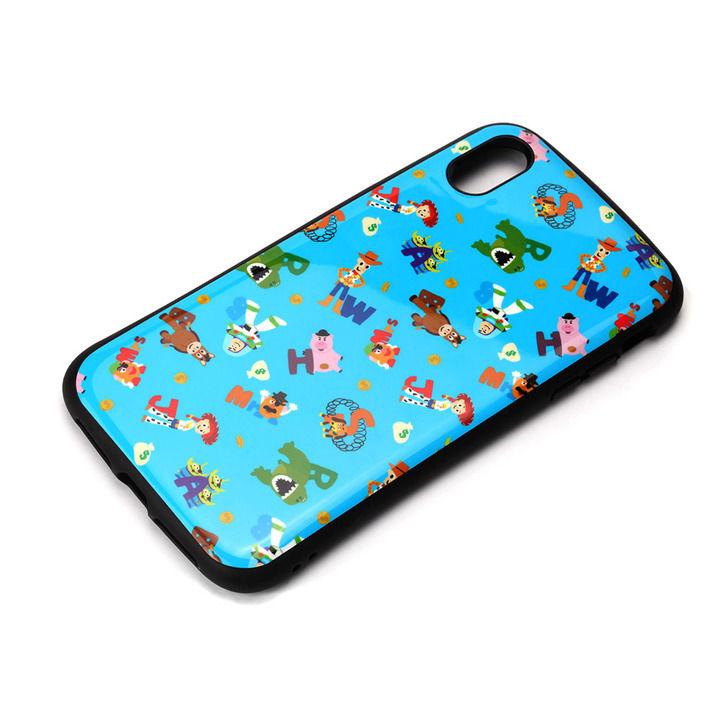iPhone XS Max ケース Premium Style ハイブリッドタフケース トイ・ストーリー/ブルー iPhone XS Max_0